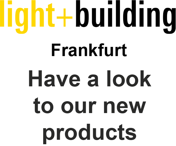 21. LIGHT AND BUILDING 2018 - FRANKFURT - 18.03. / 23.03.2018